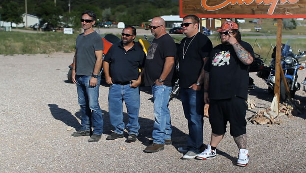 Behind the Scenes at Sturgis