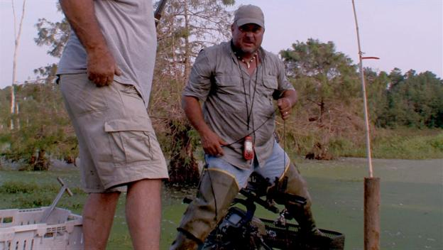 Big Foot and T-Roy Hunt For Gators On An ATV