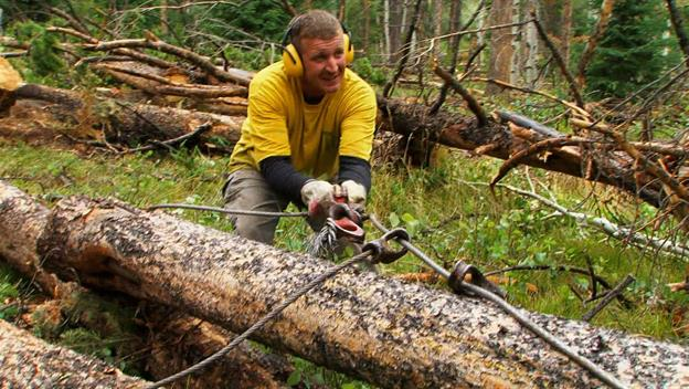 Ax Men: Log Runners