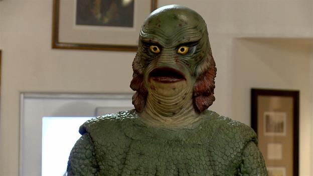 Life-Size Creature from the Black Lagoon Replica