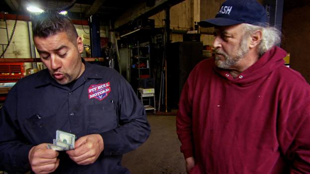 Pitbull Makes Money on a Junk Car