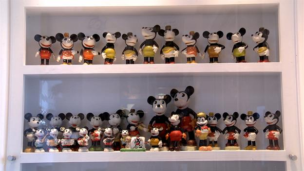 Vintage Disney Store Displays