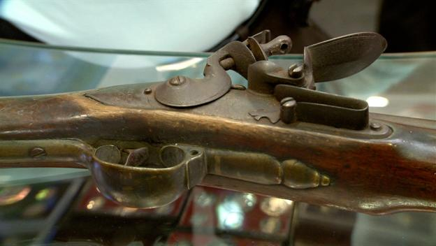 1762 Grice Brown Bess Musket